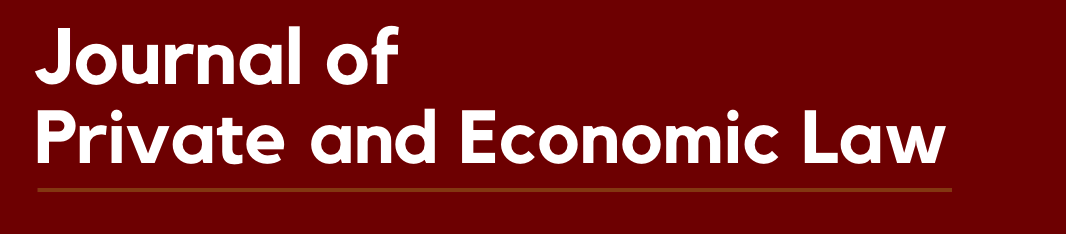 Journal of Private and Economic Law