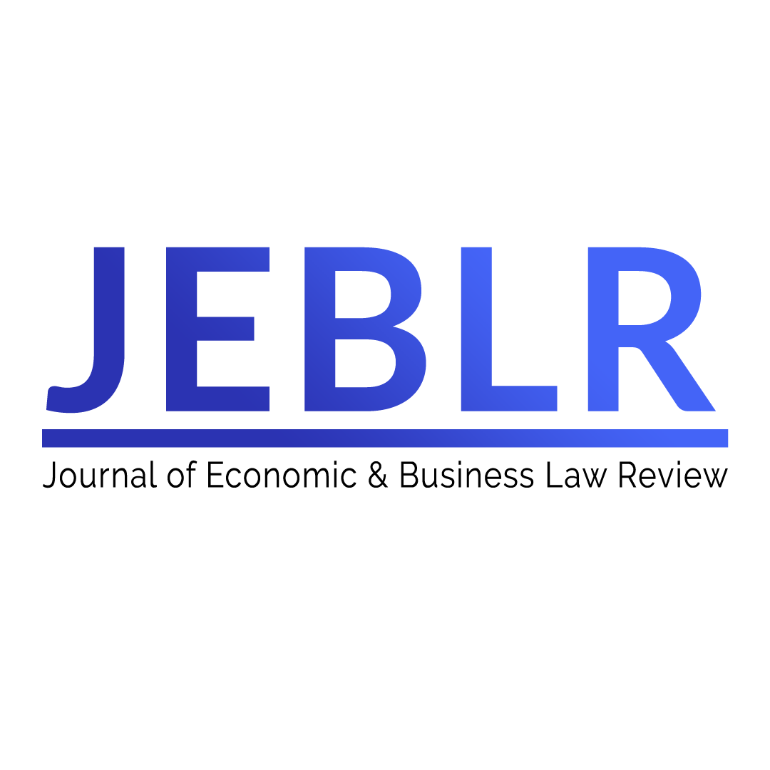 Journal of Economic & Business Law Review (JEBLR)